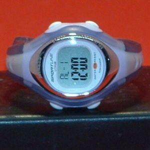 Sportsline 555 Calorie Tracking Digital Watch